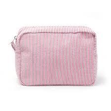 striped seerer rectangles makeup