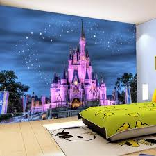 Castle Starry Sky Home Decor Custom 3d Photo Wallpaper For Kids Room Interior Design Genie