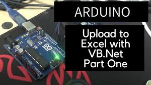 arduino upload to excel using vb net