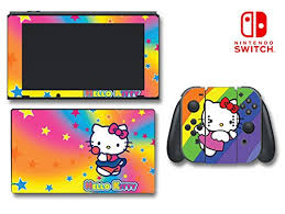 Upc 604392804903 Hello Kitty Rainbow Stars Lollipop Video Game Vinyl Decal Skin Sticker Cover For Nintendo Switch Console System Barcode Index