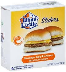 sausage egg cheese breakfast