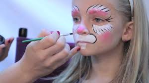 facepaint a bunny in 3 easy steps