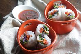 Lobster Spring Rolls with Spicy Dipping ...