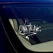 Jdm Owntheave Vinyl Decal Sticker Drifting Racing Punk Cursive Style Owntheavenue