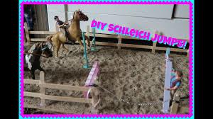 customizing schleich horse jumps diy