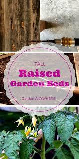 reclaimed wood raised garden beds