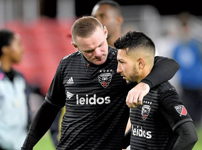 Image result for luciano acosta and wayne rooney""