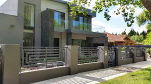 Wrought Iron Gates And Infils Modern Exterior Melbourne By Unique Wrought Iron