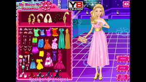 barbie prom queen game barbie dress up