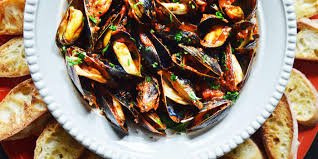 Mussels Fra Diavolo – Andrew Zimmern