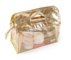 cosmetic makeup toiletry clear pvc