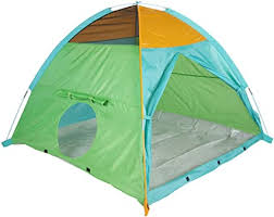 Amazon Com Pacific Play Tents 41205 Kids Super Duper 4 Kid Ii Dome Tent Playhouse 58 X 58 X 46 Toys Games