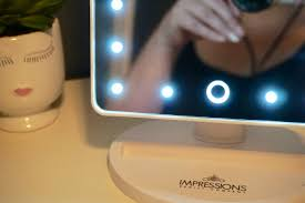 touch 2 0 dimmable led makeup mirror