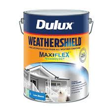 Dulux Weathershield 10l Low Sheen Deep Exterior Paint Bunnings Warehouse