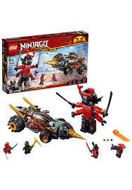 LEGO Ninjago Cole's Earth Driller Building Set
