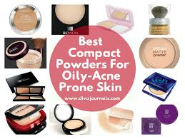 powder makeup for oily acne e skin