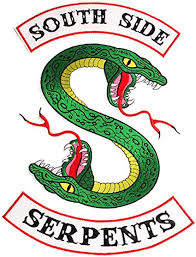 southside serpents patch sew or iron