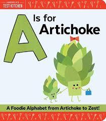 foo alphabet from artichoke to zest