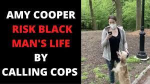 AMY COOPER RISK BLACK MAN'S LIFE ...