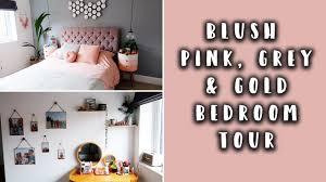 blush pink gold grey and rose gray