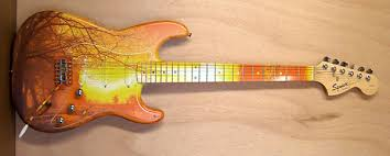 Guitar Art Decals