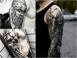 Tatuaze Meskie Na Ramieniu 30 Inspirujacych Wzorow Etatuator Pl