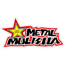 Sticker Metal Mulisha Rockstar Muraldecal Com