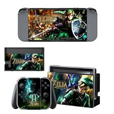 For Nintendo Switch The Legend Of Zelda Protective Decal Skin Sticker Console Controller Sticker Wish