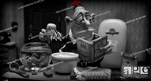Mary and Max Year : 2009 Director : Adam Elliot Animation, Stock Photo,  Picture And Rights Managed Image. Pic. POH-A7A09265_476 | agefotostock