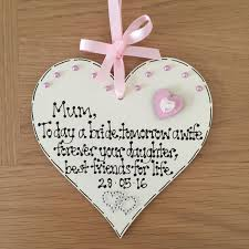 mother of the groom personalised gift