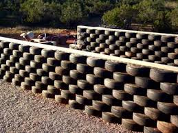 7 Tire Fence Ideas Tyres Recycle Old Tires Earthship