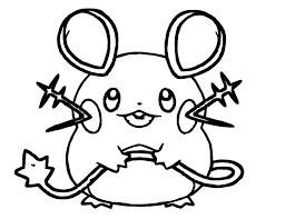 Pokemon Kleurplaat Dedene