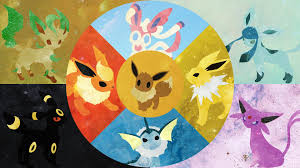 eeveelutions wallpaper ①