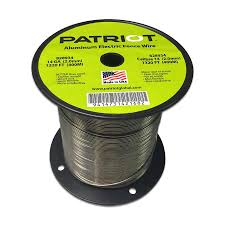 Patriot Patriot Aluminum Wire 14 Ga 1320 Ft In The Electric Fence Wire Tape Department At Lowes Com