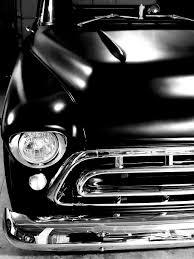 hd wallpaper chevy truck 1957 black