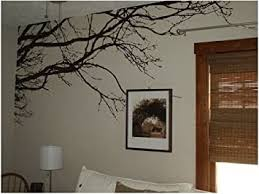 Amazon Com Vinyl Black Tree Top Branches Wall Decal Tree Branch Wall Stickers For Tree Wall Decor Baby