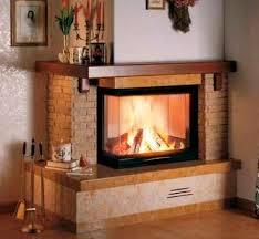 2 sided corner fireplace designs