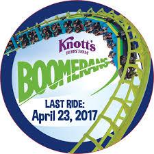 berry farm boomerang s last ride