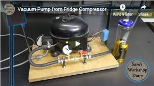 diy vacuum pump 27 easy to do projects