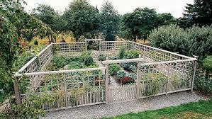deer proof garden fence ideas sunset