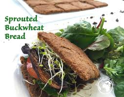 sprouted buckwheat bread food for the