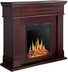 r w flame electric fireplace mantel