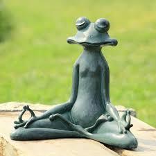 garden statues lawn ornaments yoga