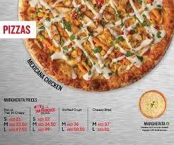 menu for pizza hut al karama