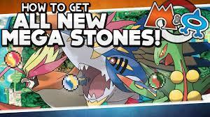 Pokémon Omega Ruby and Alpha Sapphire - All New Mega Stone ...