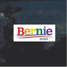Bernie Sanders 2020 Color Window Decal Bumper Sticker Custom Sticker Shop