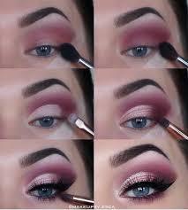 eye makeup tutorial plum purple flick