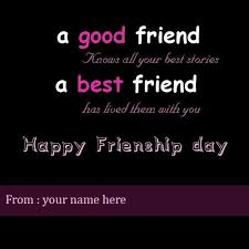 happy friendship day quotes pic