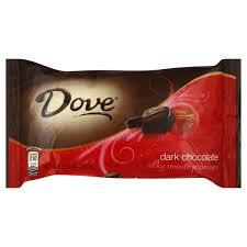 dove chocolate dark miniatures