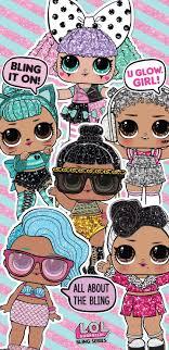 lol dolls phone wallpapers wallpaper cave